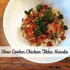 Slow Cooker Chicken Tikka Masala - http://a-life-from-scratch.com/chicken-tikka-masala-2/