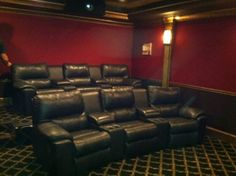 Home Theater seating - AVX Home Theater Projects - Theater Photos - Home Theater Forum