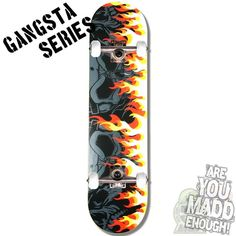 MGP Gangsta Series On Fire 7.75 Inch