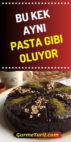Pasta Tadında ve Kıvamında Islak Kek Tarifi - Gurme Tarif Today, we make delicious cake with you, but this cake is not like what you know. Food Cakes, Baking Cakes, Desayuno Paleo, Green Curry Chicken, Red Wine Gravy, Best Pie, Flaky Pastry, Mince Pies, Cake Tasting