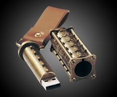 Cryptex USB Flash Drive | DudeIWantThat.com