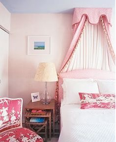 10d67368f219 Pink Chinoiserie girl s room by Ruthie Sommers. Fun