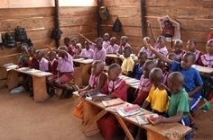 Uganda... now this is the type of school I would LOVE to teach at!