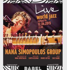 Aνασκόπηση στις εκδηλώσεις της ΒABEL που μας προσέφεραν χαρά και δημιουργία,  σε...αφίσες!  #BABEL #babelarcore #art #τεχνη #εκδηλώσεις #marousi #Live #συναυλία #world #jazz #nana #simopoulos