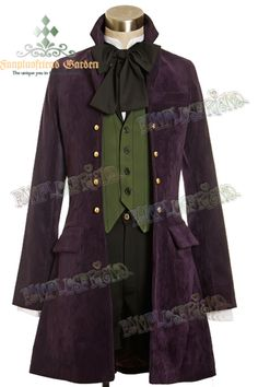 Dandy Jacket Vest Blouse Breeches. From... http://www.cosmates.jp/en/shop/product_info/products_id/32957/