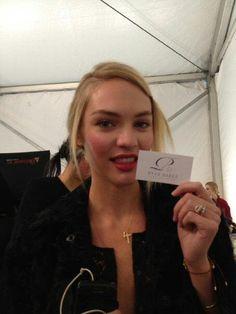 Victoria's Secret angel, Candice Swanepoel, next in line to rock some RHC heels!