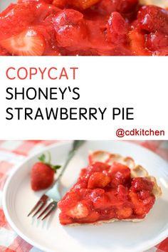 Made with whipped cream, all-purpose flour, salt, butter, shortening, water, sugar, corn starch, strawberries, lemon-lime carbonated beverage | CDKitchen.com
