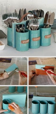 Do you want to make your home a better place for living? Don't want to spend much on buying new stuff for your home? Then this article is for you. We bring you creative DIY ideas on how to reuse and upcycle old stuff you already have to make beautiful and useful things for your home. Most of these ideas are easy and cheap to make and can be done as a small weekend project. #DiyProjects