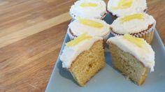 Low FODMAP lemon cupcakes
