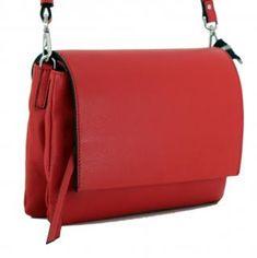 !!!Überschlagtasche rot zweigeteilt Gianni Chiarini Three Tomato Clutch, Rind, Kate Spade, Bags, Sachets, Handbags, Silver, Leather, Dime Bags