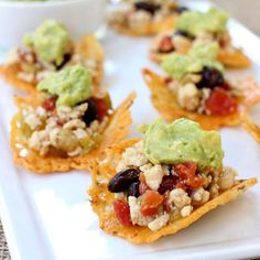 Low-Carb Cheese Crisp Nachos http://www.prevention.com/food/6-healthier-and-totally-tasty-ways-to-do-nachos-without-tortilla-chips/slide/5