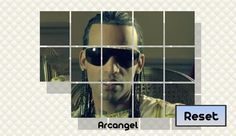 Arcangel has gotten mixed up. Can you fix the pictures?<p>Austin Santos (born December 23, 1985), better known by his stage name Arcángel, is a singer-songwriter. He was born in New York City, and eventually moved to Puerto Rico in 2002, interested in becoming a performer of reggaeton, a contemporary Latin American urban music genre. While living in Puerto Rico, he would eventually form part of a popular then-underground reggaeton act, Arcángel & De La Ghetto. The duo eventually went on to…