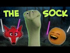 Annoying Orange - The Sock (What Does The Fox Say? Ylvis Parody)