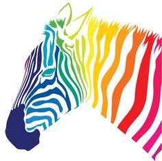 Anbstravt vector illustration of zebra Colorful Animal Paintings, Colorful Animals, Murciano Art, Zebra Illustration, Free Printable Clip Art, Stencil Art, Wildlife Art, Vector Art, Art Projects