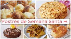Postres de Semana Santa sin azúcar. Versiones saludables de los dulces tradicionales de siempre.