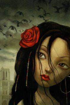 benjamin lacombe - notre dame de Paris