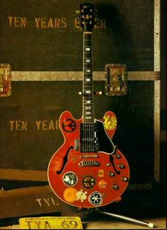 Alvin Lee lit up the night with this guitar at Woodstock.