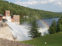 Conklinville Dam flood stage