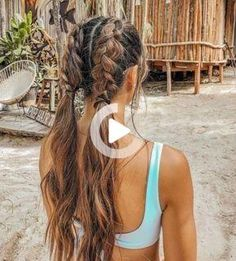 75 Awesome Box Braids Hairstyles You Simply Must Try - Hairstyles Trends Cute Hairstyles For Teens, Teen Hairstyles, Pretty Hairstyles, Braided Hairstyles, Bohemian Hairstyles, Hair Extension Hairstyles, Hairstyles For Picture Day, Hairstyles For Greasy Hair, Dancer Hairstyles