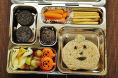 """This website has tons of great ideas on how to make lunches more exciting for your kids so they'll not only eat it but be excited about the healthy stuff.  This gal is super organized and documents all of her """"packed with love"""" lunch ideas."""