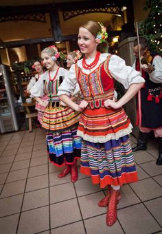 Regional clothing from Lublin, Poland [source]. Folk Costume, Costumes, Arte Popular, Traditional Dresses, Folklore, Parka, Product Launch, Polish, Summer Dresses