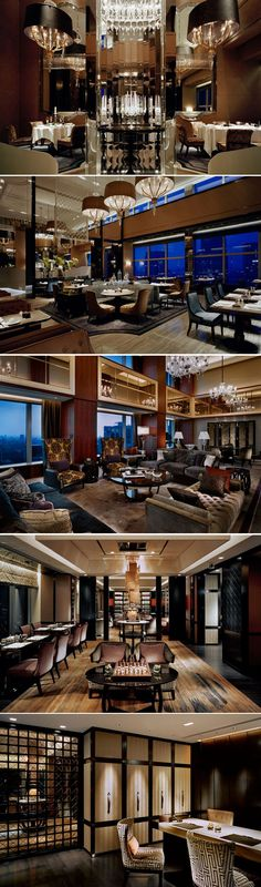 Grand Club Lounge SHANGRI-LA Hotel, Tokyo Japan by Andre Fu_AFSO Design Studio