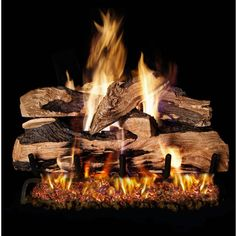 12 best gas fireplace logs images rh pinterest com