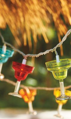 Enhance the party atmosphere of your patio or home bar with these Margaritaville String Lights.   Margaritaville by Frontgate