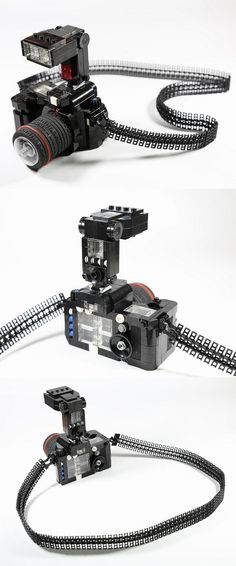 #LEGO camera.  Wow, this is the best LEGO camera I have seen yet.  Great details!