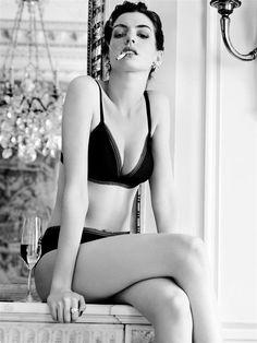 Anne Hathaway by Ben Hassett