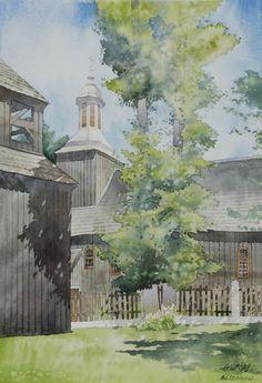 Gorska Rudera (Grzegorz Wróbel) GreeGW – Blizanow 2 – watercolor
