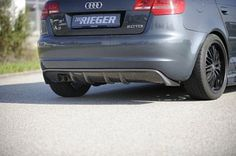 112 EUR*  Audi A3 8P Diffusor #vctgermany *exw WHATSAPP +491708031194