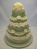 2010 ACF Competition Cake.  Love the green cake.. so usual.  LL