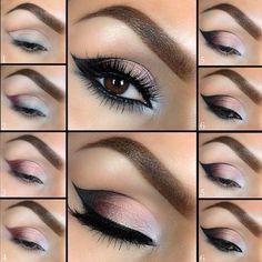 Tutorial: Beautiful Smokey Eye Makeup