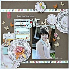 My Creative Scrapbook May Main Kit designed by Alicia Giess.