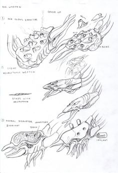 ::bio weapons::    Glorlons special weapons by TugoDoomER on DeviantArt