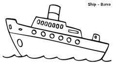 16 Ide Kendaraan Laut Warna Buku Mewarnai Kendaraan