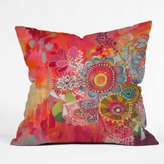 Stephanie Corfee Miss Libby Outdoor Throw Pillow   DENY Designs Home Accessories
