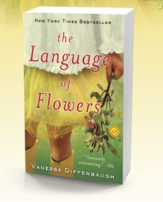 The Language of Flowers; love the flower dictionary at the back!!