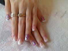 ... réalisations de gel uv, nail art manucure, mains ou pieds, one st...