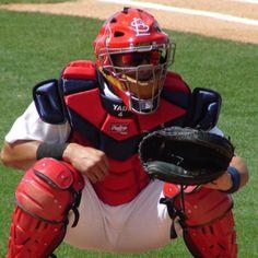 St.Louis Cardinals catcher Yadier Molina.