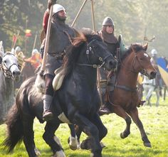 Norman cavalry - The Battle of Hastings