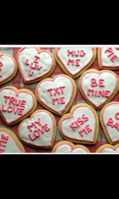 Sweets. Perfect for valentines day!