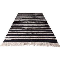 Mink Interiors OSLO Vintage Style Rug ($340) ❤ liked on Polyvore featuring home, rugs, fringed rug, black rug, vintage looking rugs, vintage style rugs and vintage inspired rugs