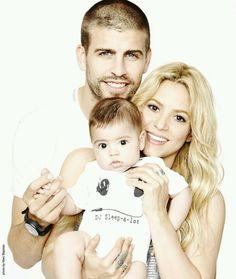 Shakira and family