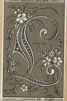 ru / Foto nº 85 - 25 - SvetlanN Embroidery Alphabet, Alphabet Art, Hand Embroidery Patterns, Letter Art, Illuminated Letters, Illuminated Manuscript, Monogram Letters, Monogram Initials, Lettering Tutorial
