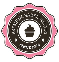 Free Premium Bakery Goods Logo #freelogos #bakerylogo #vectorlogos #labels #cupcakelogo #restaurantlogo