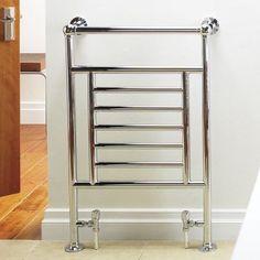 Kudox Vera Midi Towel Warmer Chrome, (W)610 x (H)914mm, 5060235341670