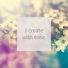 3 Minute Meditation: I create with ease. Try this meditation when you need a burst of creativity or inspiration. Meditation Benefits, Meditation Quotes, Daily Meditation, Mindfulness Meditation, Miracle Morning, Meditation For Beginners, New Energy, Affirmation Quotes, Mindful Living