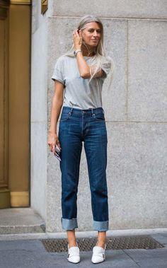 O novo jeito de dobrar a barra do jeans